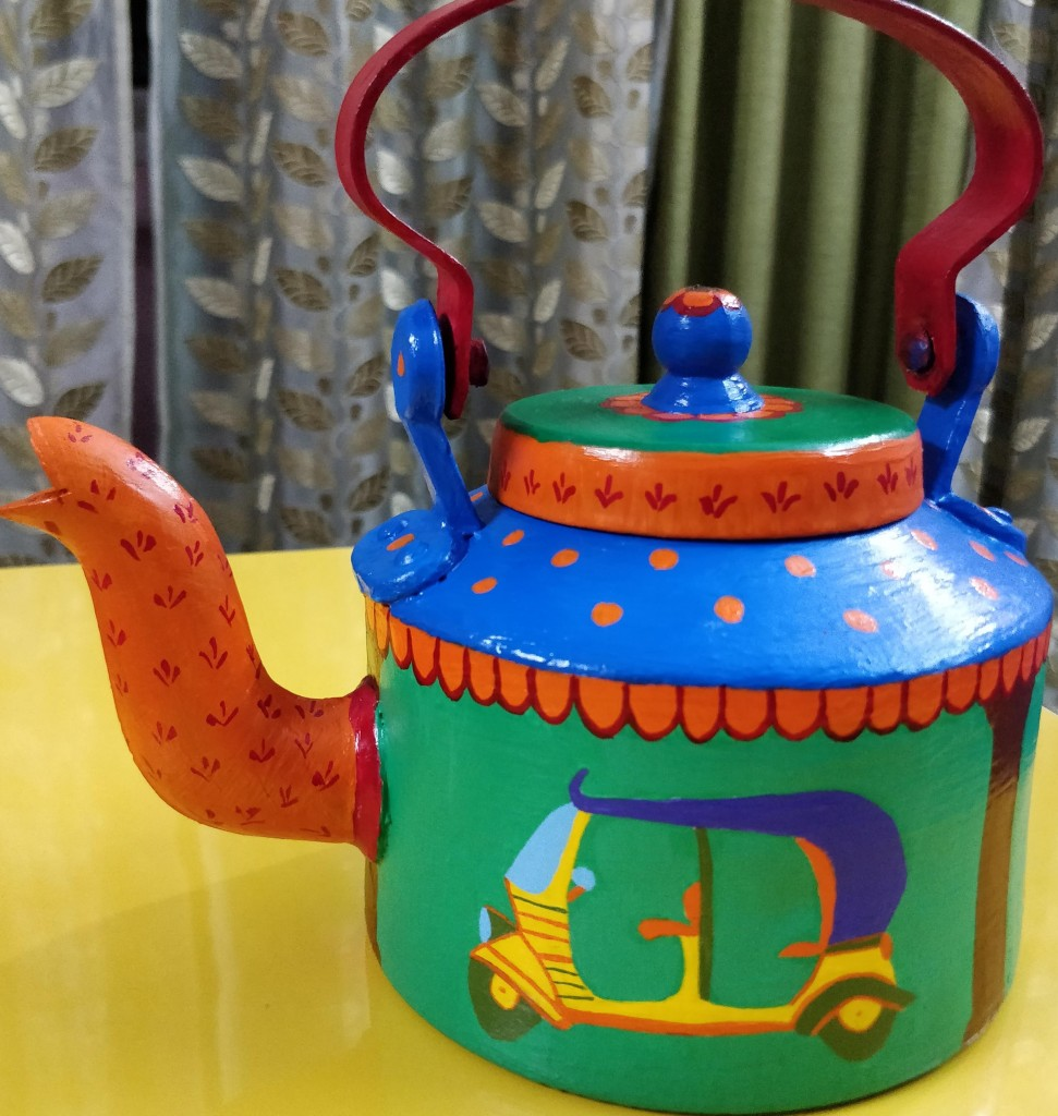 Kettle for home and garden decor