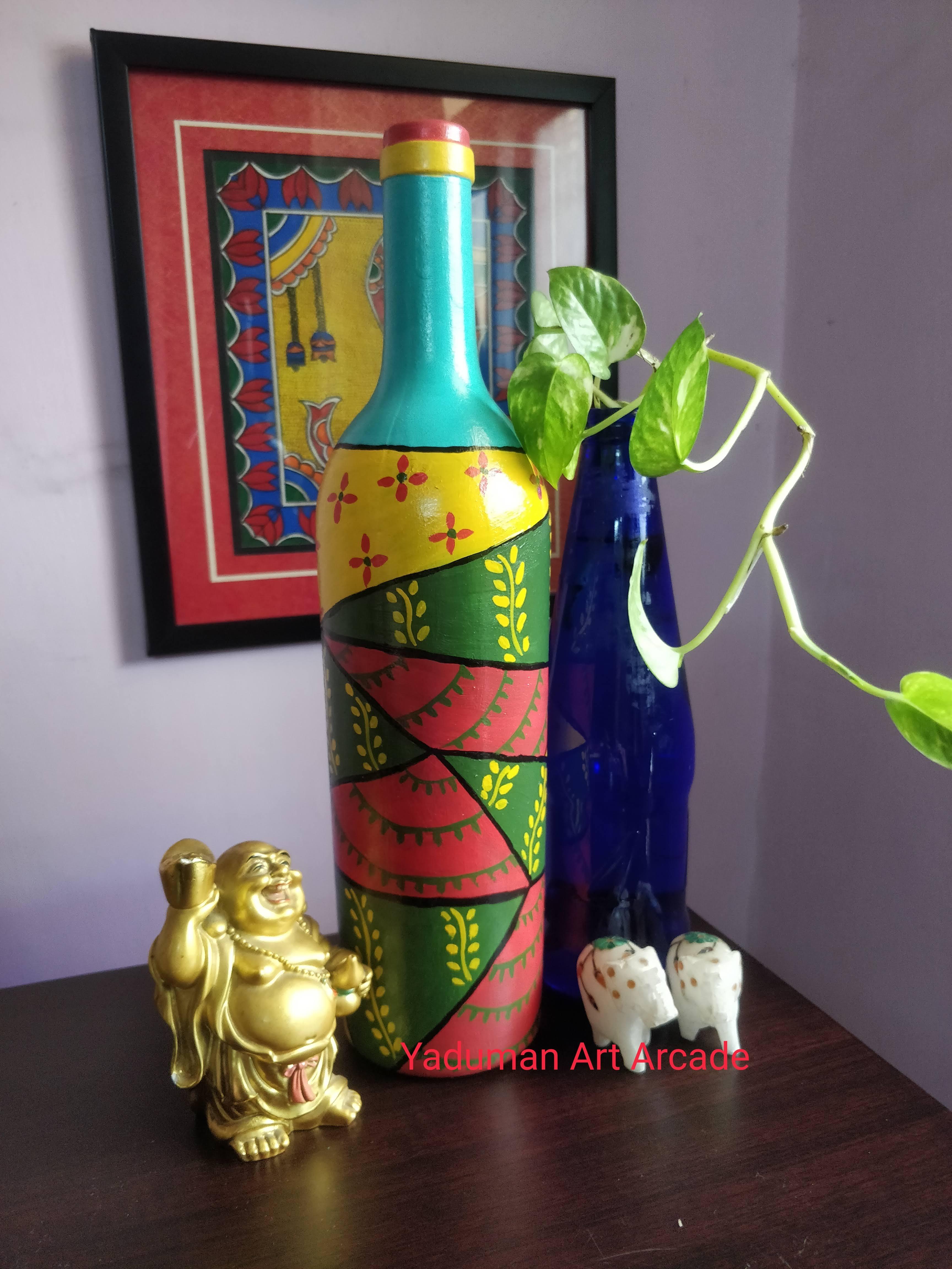 Art on bottle