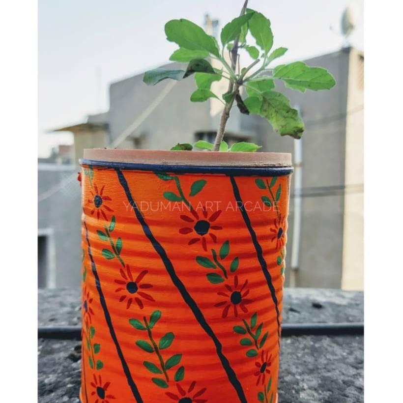Orange planters